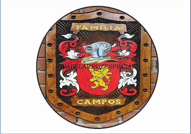 BRASÃO DA FAMÍLIA CAMPOS
