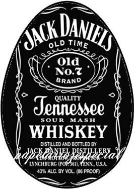 OVO COLHER WHISKY JACK DANIELS 001