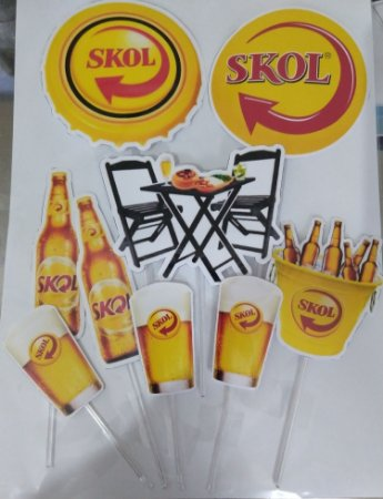 SKOL 001 TOPO DE BOLO (PAPEL FOTOGRÁFICO)
