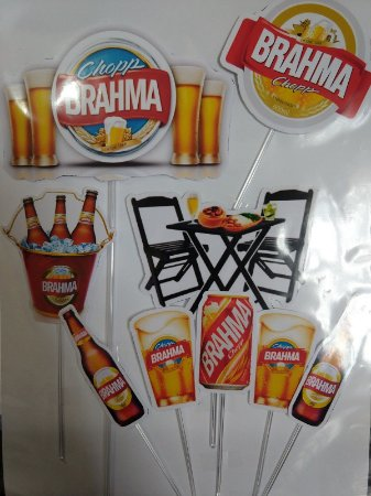 BRAHMA 001 TOPO DE BOLO (PAPEL FOTOGRÁFICO)