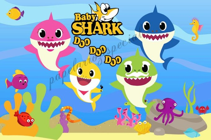 BABY SHARK 002 A4