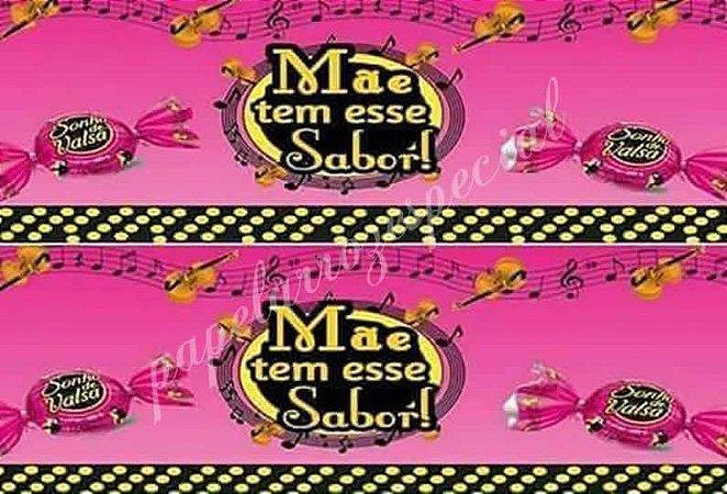 DIA DAS MÃES SONHO DE VALSA (PAPEL FOTOGRÁFICO)
