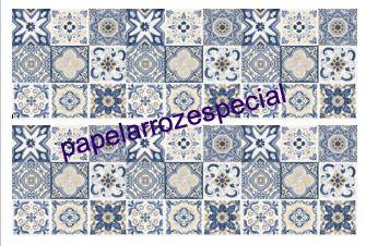 AZULEJO VINTAGE 004 FAIXA LATERAL 9 CM
