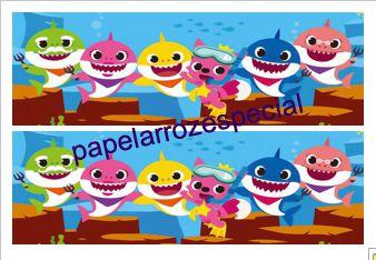 BABY SHARK FAIXA LATERAL 001 9CM