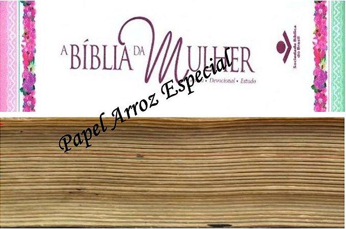 BIBLIA DA MULHER + FAIXA LATERAL