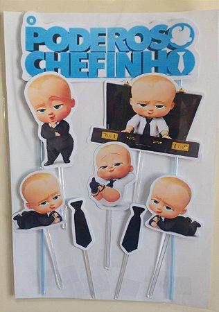 PODEROSO CHEFINHO 001 TOPO DE BOLO (PAPEL FOTOGRÁFICO)
