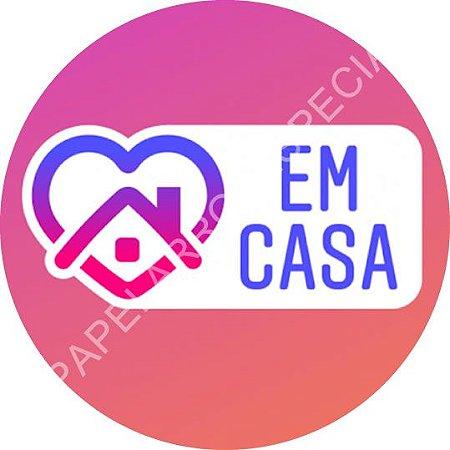 EM CASA (RETANGULAR OU REDONDO)