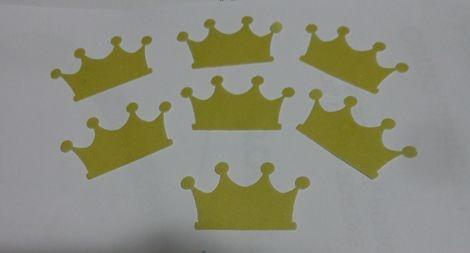 COROA CORTADA PACOTE COM 10 UNIDADES - PAPEL PREMIUM