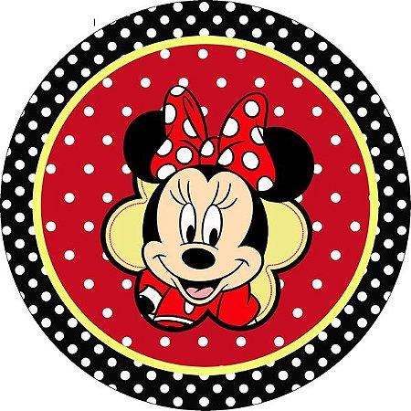 Minnie Vermelha 008 19 Cm Papel Arroz Especial