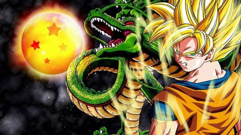 DRAGON BALL 001 A4