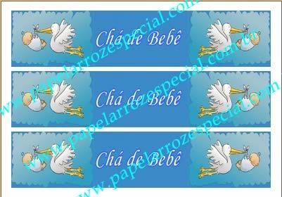CHA DE BEBE FAIXA LATERAL 001 A4 3 UNIDADES 6X27,7