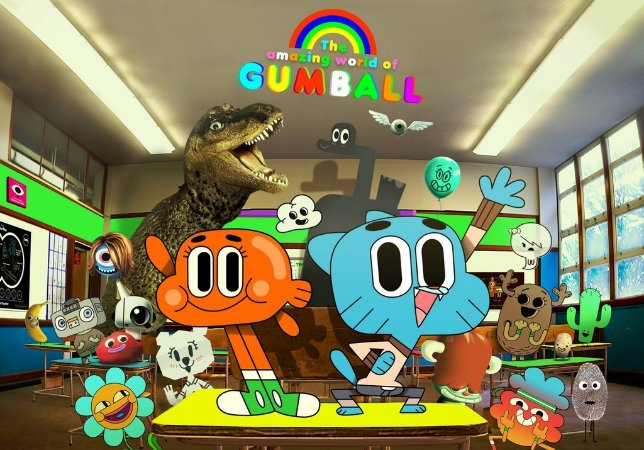 GUMBALL 001 A4