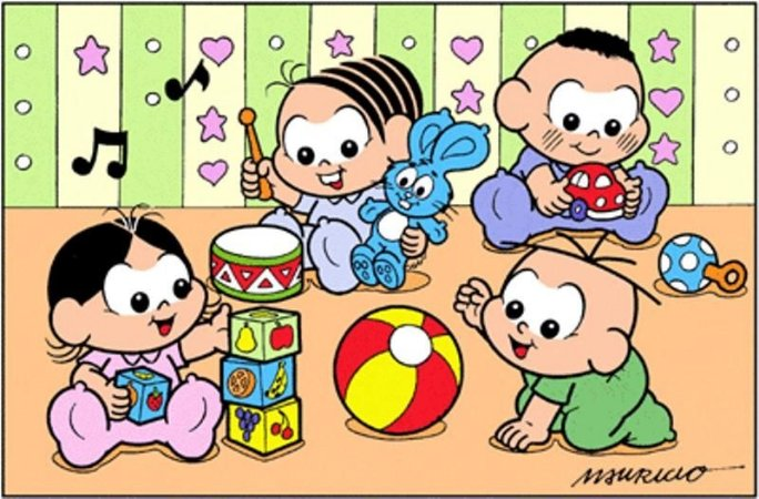 TURMA DA MONICA BABY 001 A4