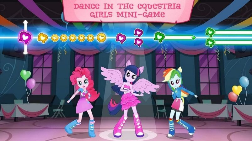 EQUESTRIA GIRLS 001 A4