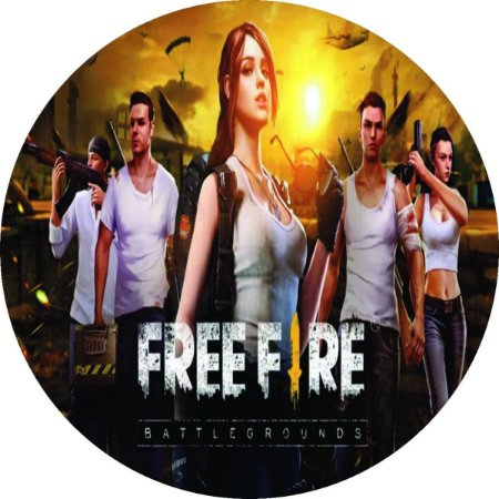 FREE FIRE 003 19 CM