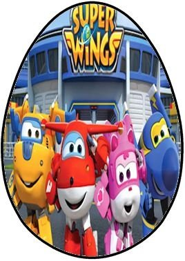 OVO COLHER SUPER WINGS 001 250G (04 UNIDADES)