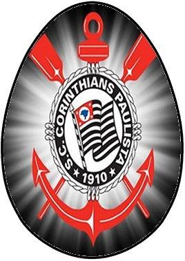 OVO COLHER CORINTHIANS 002 (02 UNIDADES) 350G