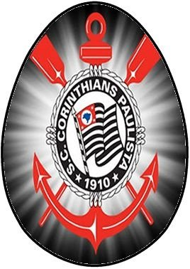 OVO COLHER CORINTHIANS 002 (02 UNIDADES) 500G
