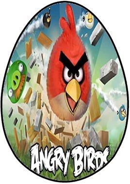 OVO COLHER ANGRY BIRDS 001250G (02 UNIDADES)
