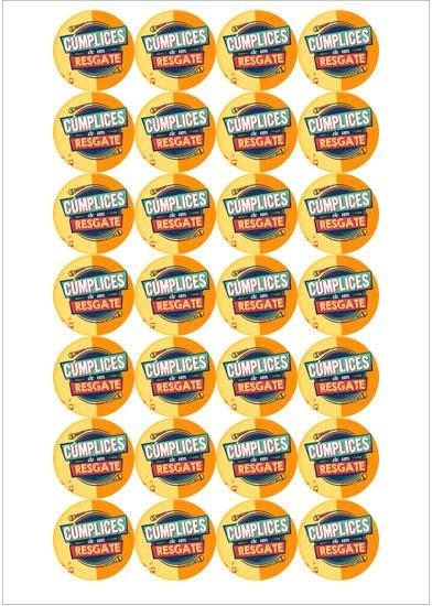 CUMPLICES DE UM RESGATE CUPCAKE 001 4CM