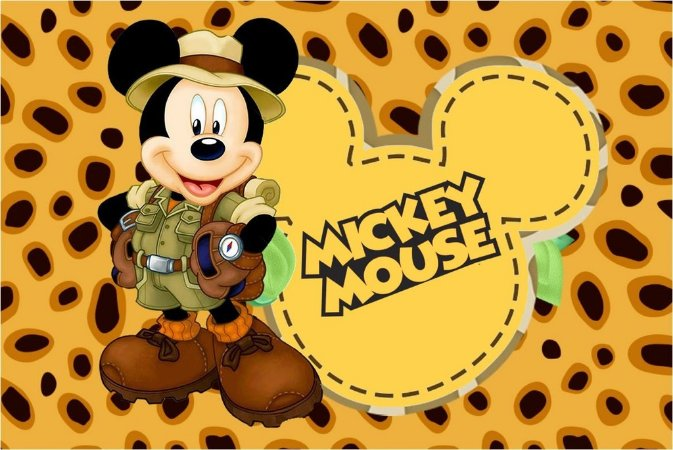 MICKEY SAFARI 003 A4
