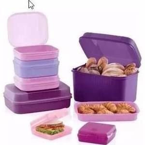 Tupperware Kit Bea Visual Box 07 Peças