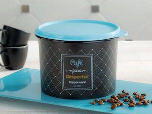 Tupperware linha Bistrô Caixa Para Café 700g