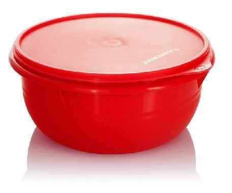 Tupperware Tigela Batedeira Grande 3,2 Litros - Vermelha