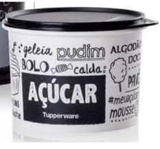Tupperware Linha PB Fun Caixa Para Açúcar 4,6Kg