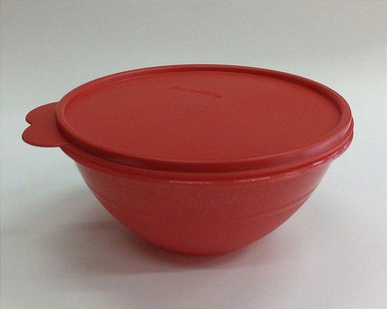 Tupperware Tigela Maravilhosa Com Glitter 1,0 Litro  - Vermelho