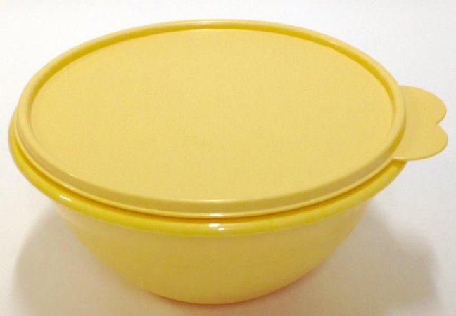 Tupperware Tigela Maravilhosa 1,0 Litro  - Amarelo