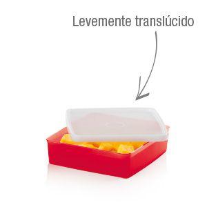 Tupperware Refri Box 400ml - Vermelho