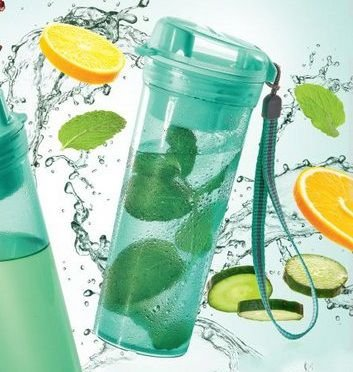 Tupperware Garrafa Tupper Drink Plus 400ml - Mint