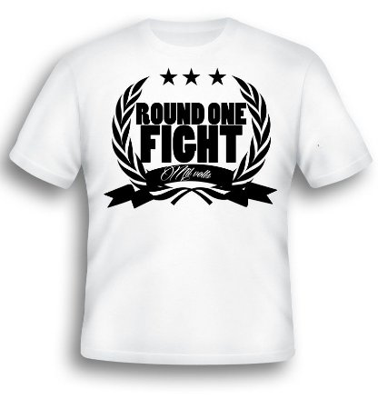 Camiseta Round one Fight