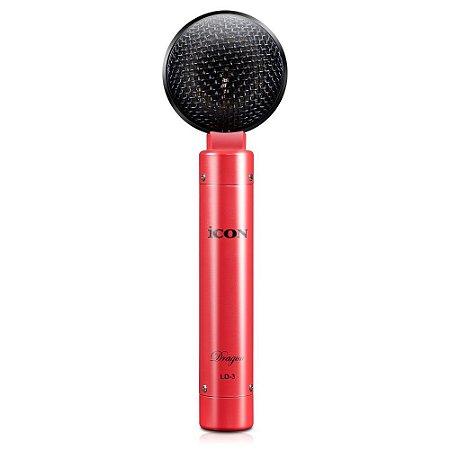 Microfone condensador com fio iCON Dragon LD3