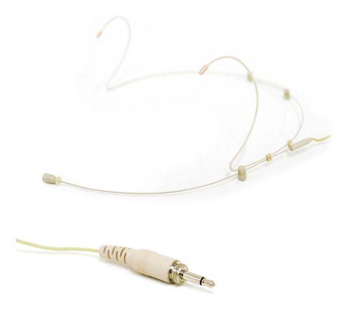 Microfone condensador auricular Arcano HD-02S-2-C bege