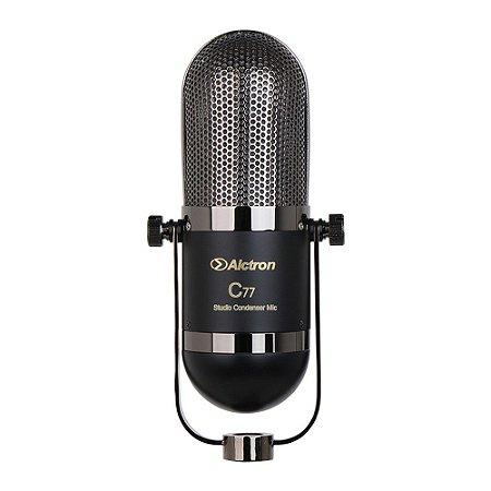 Microfone condensador Alctron C77 c/ maleta