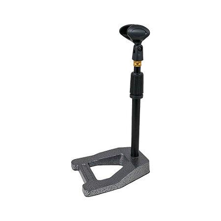 Suporte de microfone Arcano AR-13S pedestal de mesa
