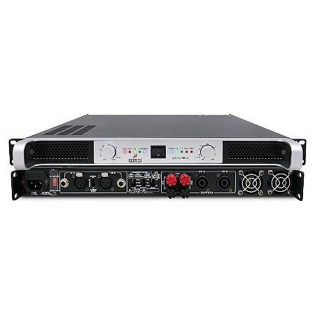 Amplificador de potência Arcano STAERK-2 840w 2 canais
