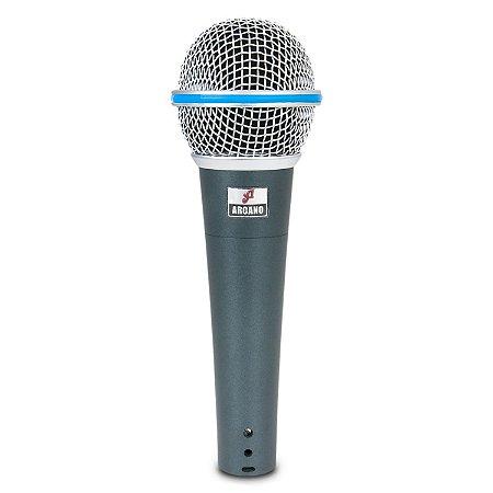 Microfone dinâmico Arcano Osme-8 com fio