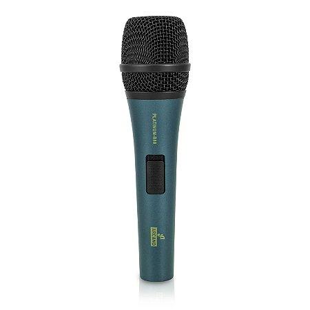 Microfone dinâmico Arcano PLATINUM-B88 com fio