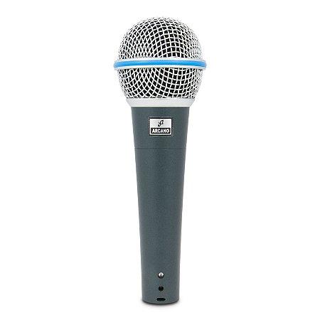 Microfone dinâmico Arcano Rhodon-8 com fio