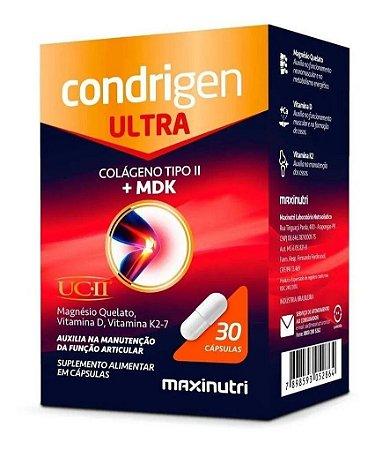 Condrigen Ultra (COLAGENO UC-II + MDK) - 60 CAPS - CAIXA 12 UND