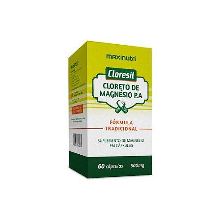Cloresil Cloreto De Magnésio P.A 60 caps - Maxinutri