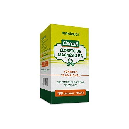 Cloresil Cloreto De Magnésio P.A 100 caps - Maxinutri