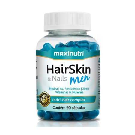 HairSkin & Nails Men 90 caps - Maxinutri