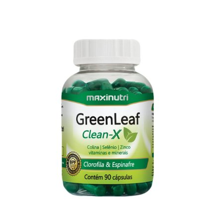 GreenLeaf Clean-X 90 caps - Maxinutri