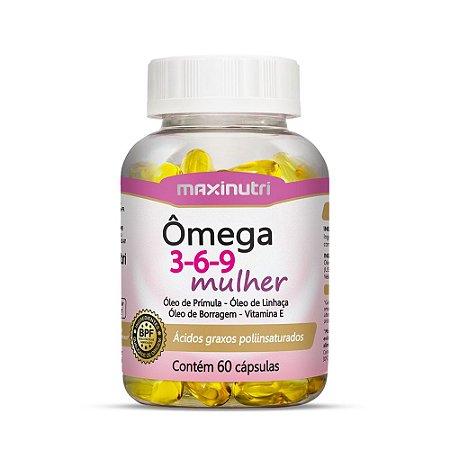 Ômega 3-6-9 Mulher 60caps - Maxinutri