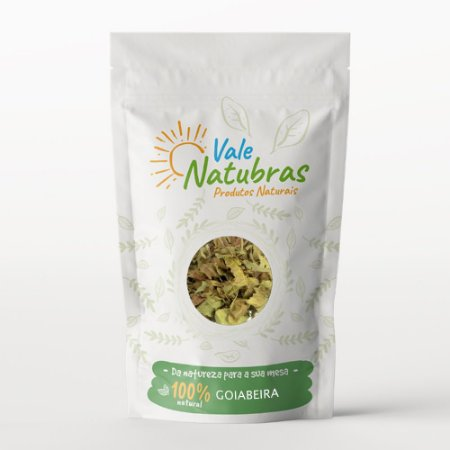 Chá de Goiabeira - Psidium guajava Raddi 30g - Vale Natubras