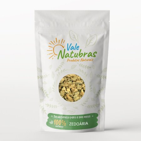 Chá de Zedoária - Curcuma zedoaria - Roscoe 30G - Vale Natubras
